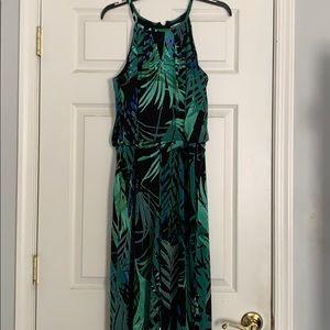 Green romper, size 10